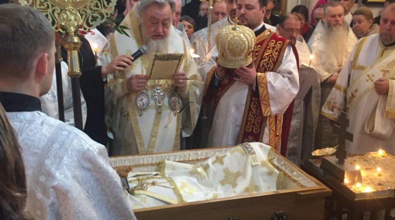 Pogrzeb Jego Ekscelencji Najprzewielebniejszego Jeremiasza Prawosławnego Arcybiskupa Wrocławskiego i Szczecińskiego.