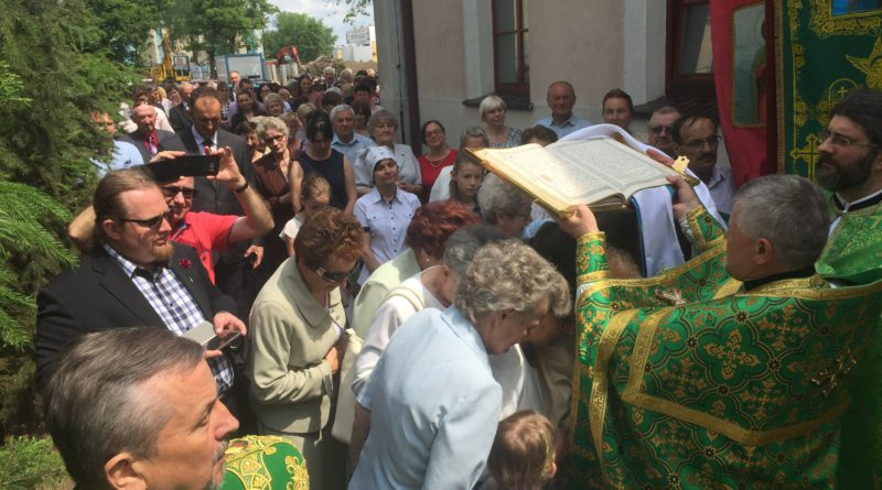 Święto parafialne w lubińskiej Cerkwi.