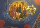 Zakończenie I części prac nad polichromią w lubińskiej Cerkwi.