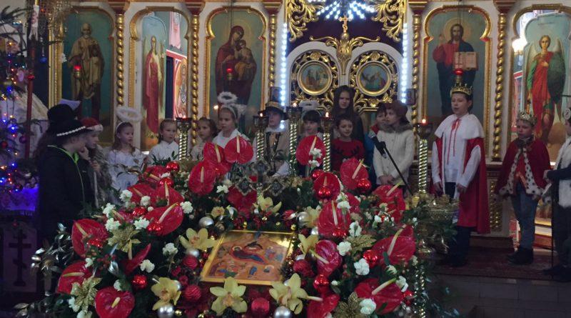 Święto Bożego Narodzenia oczami najmłodszych parafian.