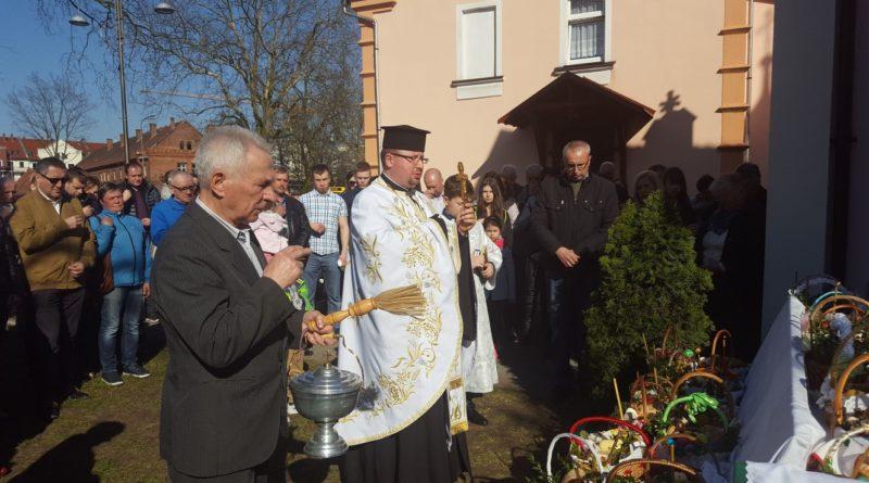Święta Zmartwychwstania Pańskiego w Lubinie.