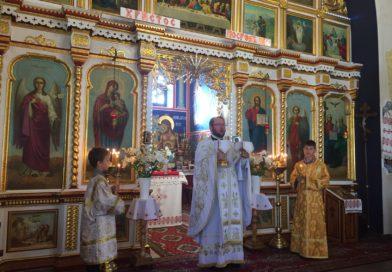 Modlitwa dziękczynna w  lubińskiej Cerkwi.