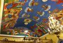 Kontynuacja  prac dotyczących polichromii  lubińskiej Cerkwi.
