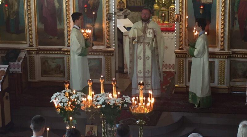 Modlitwa w intencji Ojczyzny, pokój na świecie, a także za dusze zmarłych w rocznicę 80-lecia II Wojny Światowej.