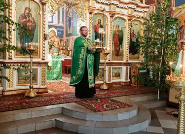 Nabożeństwo wieczorne Święta Zesłania Ducha Świętego na Apostołów.