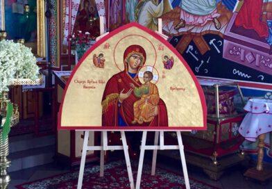 Zakończenie prac nad polichromią w lubińskiej Cerkwi.